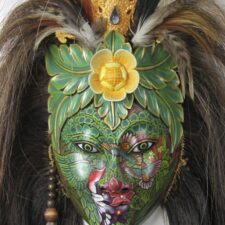 Balinese Queen of the Forest Mask