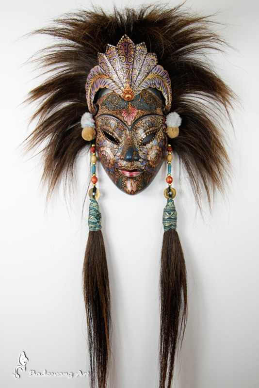 Balinese Princess Mask