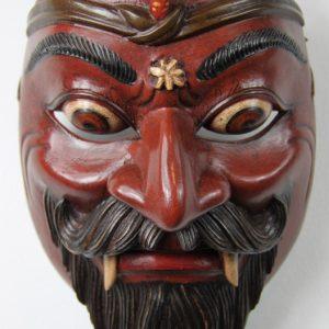 Balinese Rahwana Dance Mask