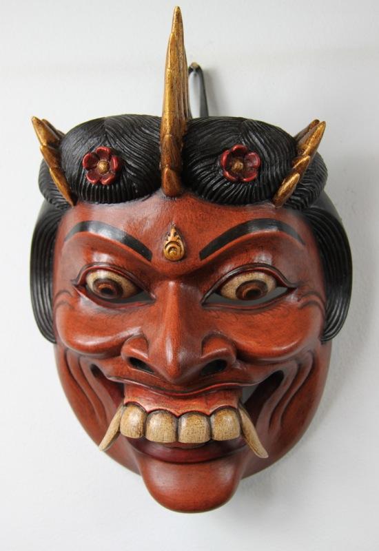 Balinese Durga Dance Mask