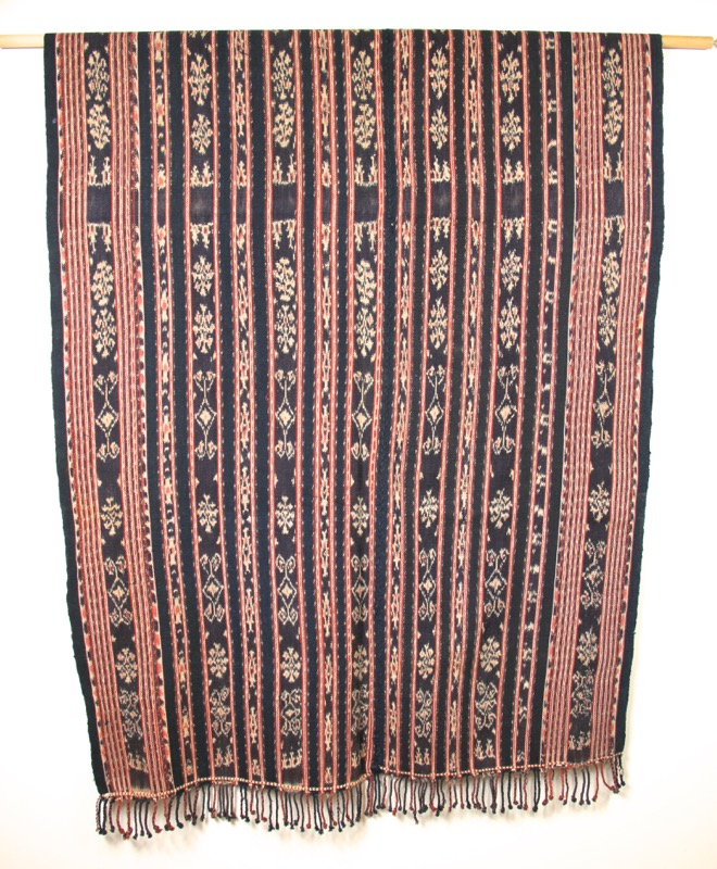 Traditional woven ikat textile from Sabu, Indonesia