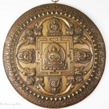 Exquisite Round Mandala Plate