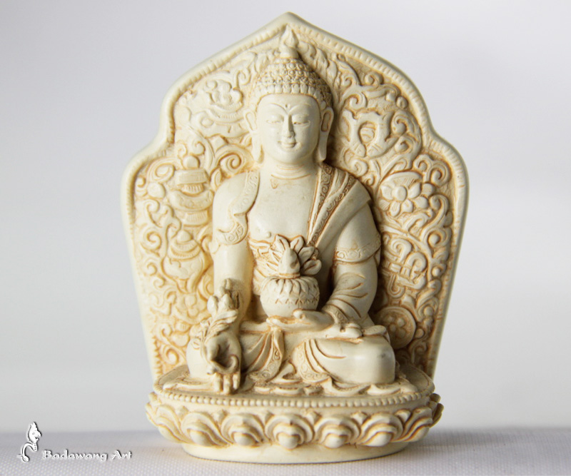 Small Resin Medicine Buddha