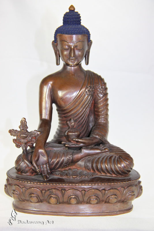 Brass/Copper Medicine Buddha