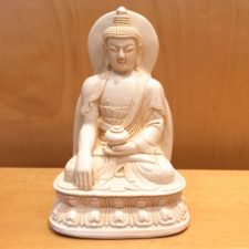 Small Resin Enlightenment Buddha