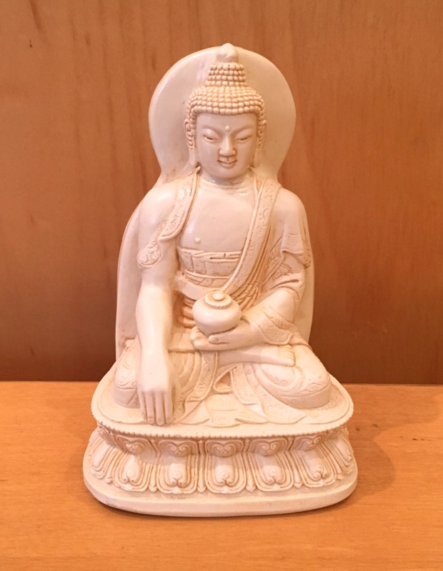 Medium Resin Enlightenment Buddha