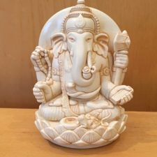 Small Resin Yogi Ganesh