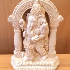 Small Resin Gateway Ganesh