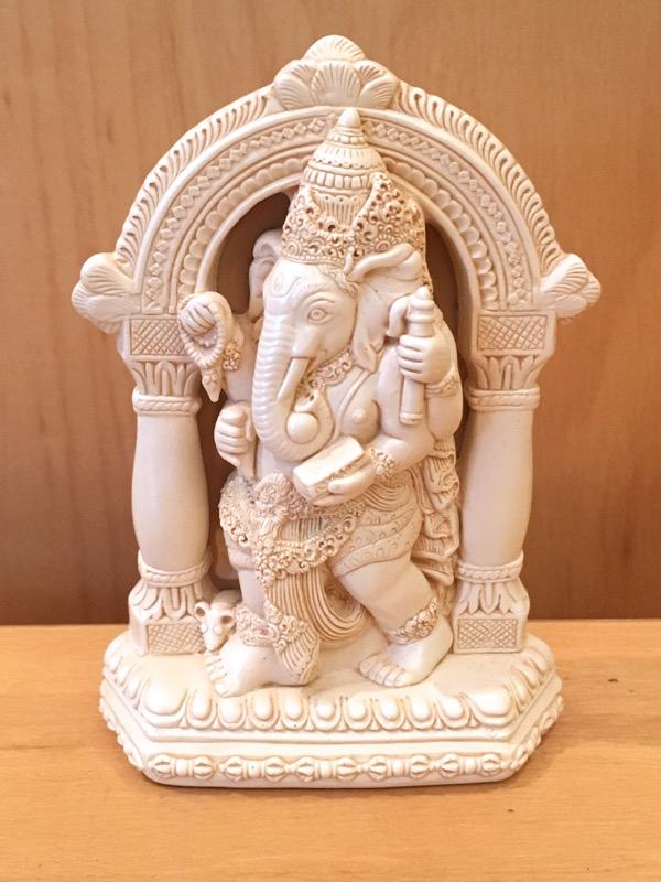 Small Resin Gateway Ganesh