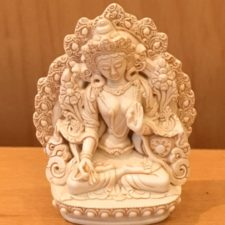 Medium Resin White Tara