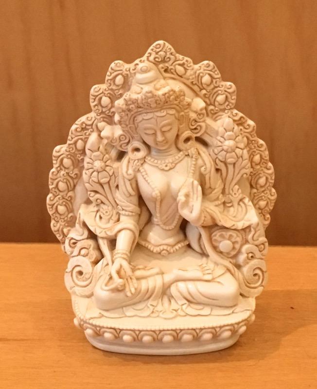 Medium Resin White Tara