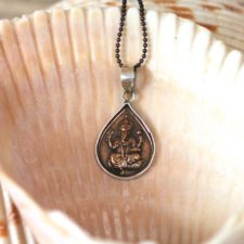 Copper and Silver Ganesh Necklace