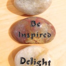 Awaken, Be Inspired, Delight talistone gift package