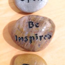 Be Open, Be Inspired, Be talistone gift package