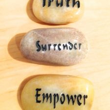 Truth, Surrender, Empower talistone gift package