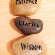 Patience, Clarity, Wisdom talistone gift package