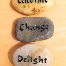 Celebrate, Change, Delight talistone gift package