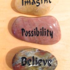 Imagine, Possibility, Believe talistone gift package