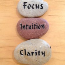 Focus, Intuition, Clarity talistone gift package