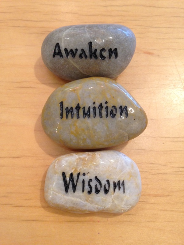 Awaken, Intuition, Wisdom talistone gift package