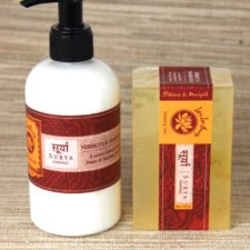 Hibiscus-Marigold Body Lotion and Glycerin Beauty Ba