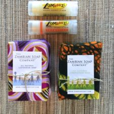 Lavender and Lemongrass Soaps with Lemongrass and Tangerine Lip Balms