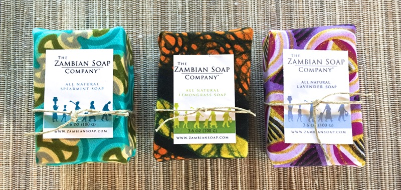 Spearmint, Lemongrass and Lavender Soaps