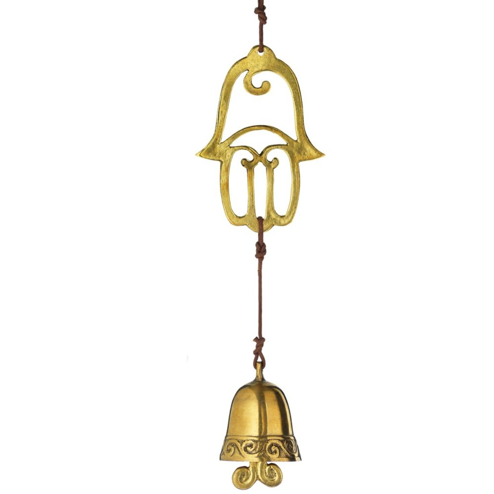 Brass Hamsa Door Chime