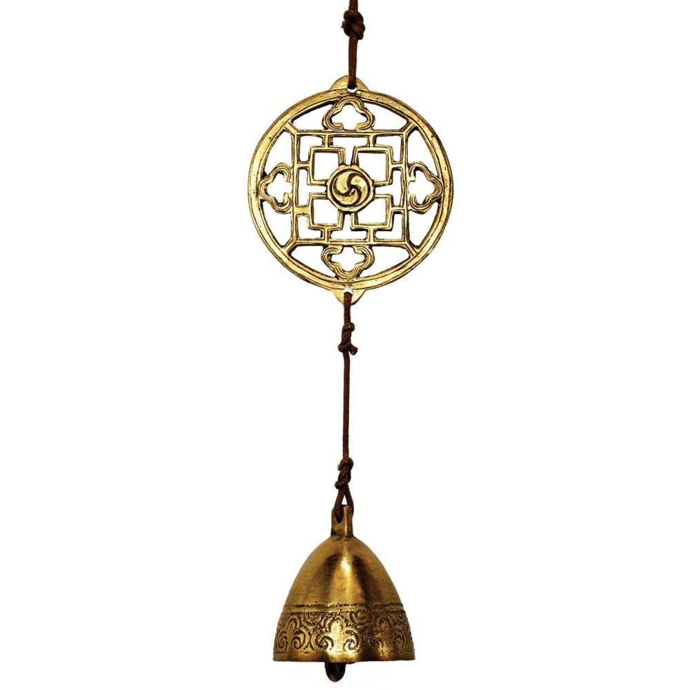 Brass Mandala Door Chime