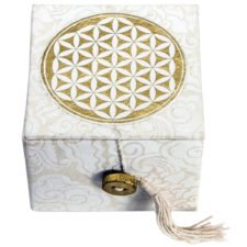 Flower of Life- Mini Singing Bowl in a Box for Meditation