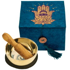 Hamsa- Mini Singing Bowl in a Box for Meditation