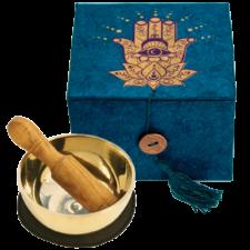 Hamsa- Mini Singing Bowl in a Box for Meditation