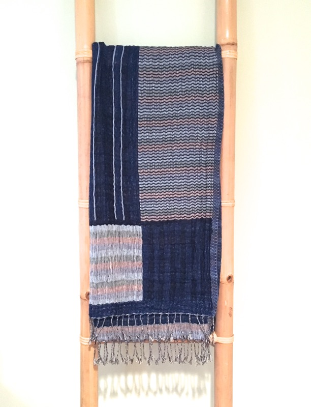 Cotton Wool Blend Shawl & Scarf