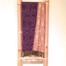 Rayon Stretchy Scarf-Purple
