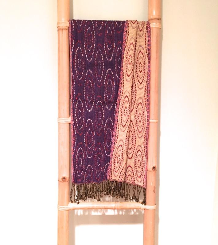 Rayon Stretchy Scarf-Purple