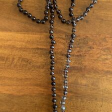Smoky Quartz Crystal 108 Bead Mala