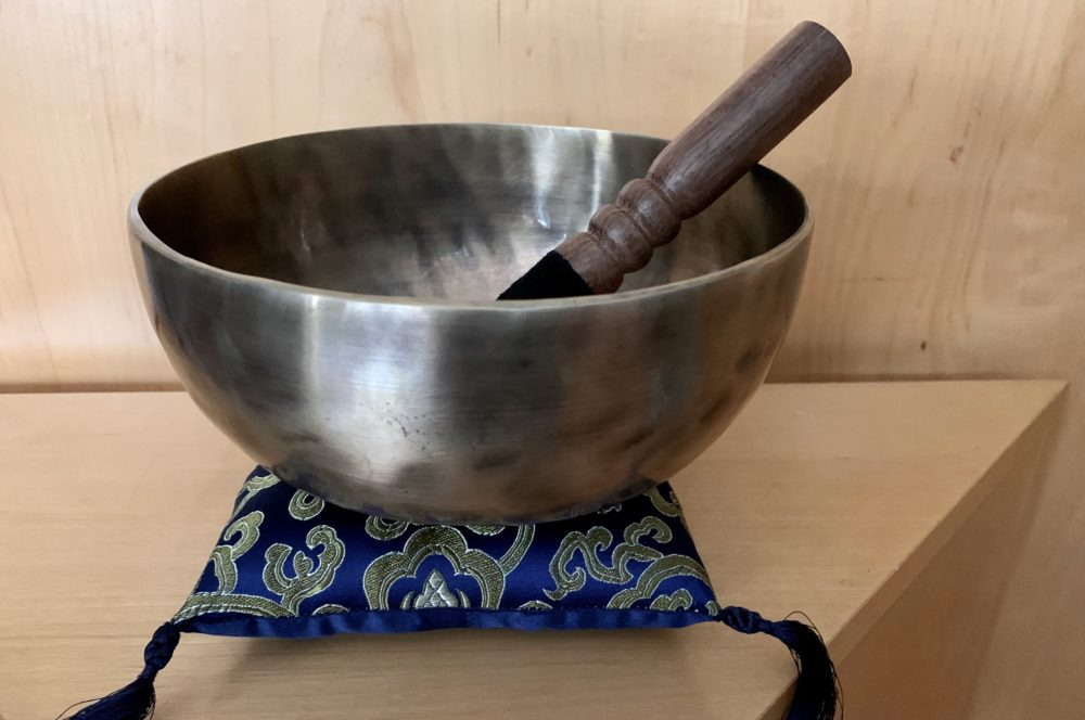 "7"" F Note Seven Metals Singing Bowl"