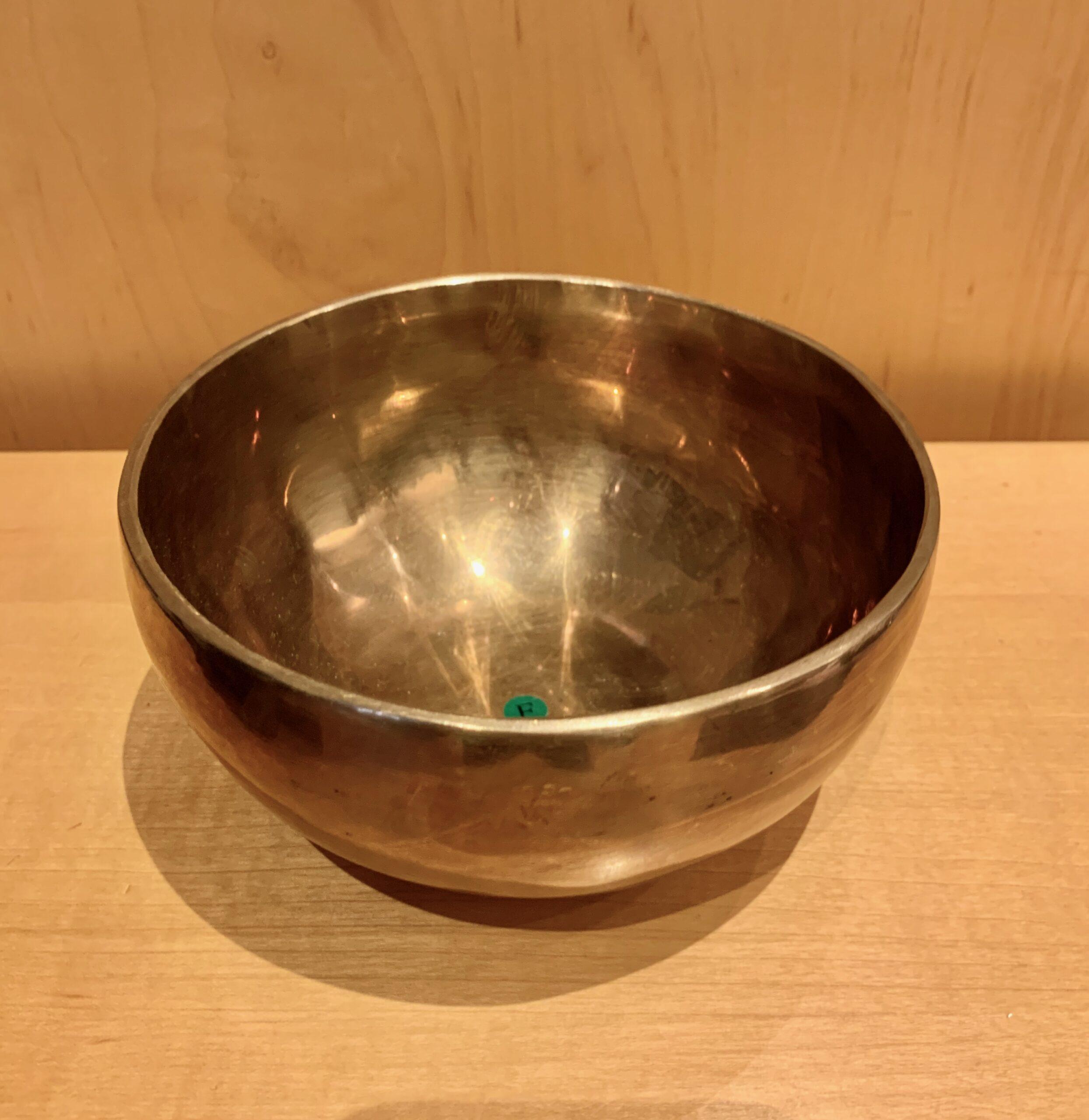 Authentic 7 Metals Singing Bowl F