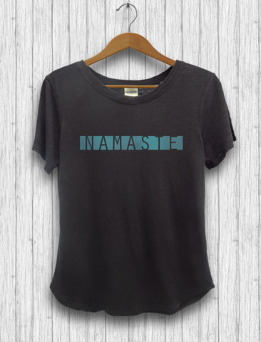 Namaste Cotton Bamboo Tee