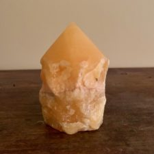 Orange Calcite Crystal Pillar