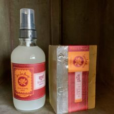 Hibiscus Marigold body mist w/glycerin beauty bar