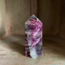 Purple Fluorite pillar