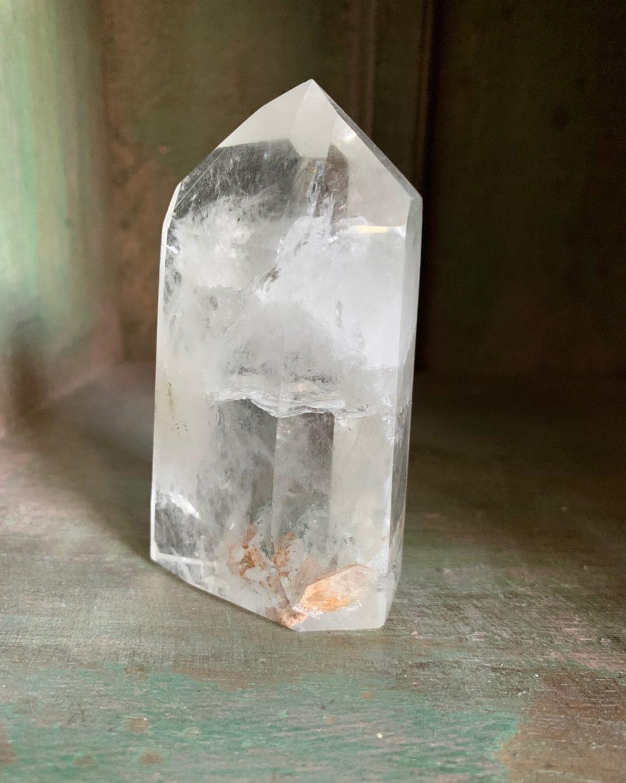Clear Quartz Crystal Pillar