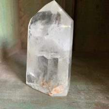 Clear Quartz Crystal Pillar