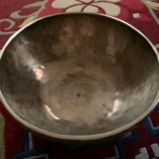 Seven Metal Hand Hammered Singing Bowl