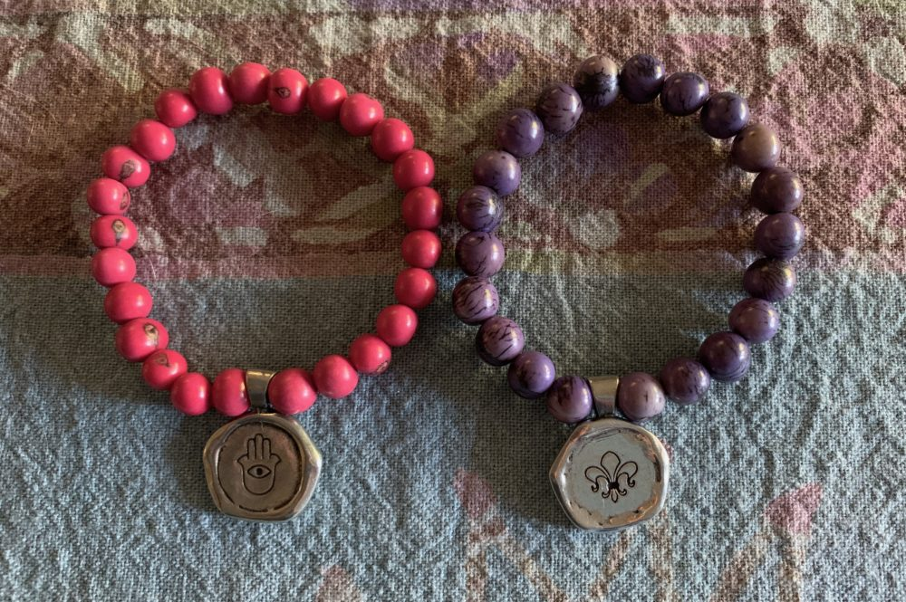 Protect and Strength Beaded bracelets