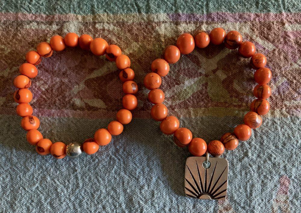 Whereever you go bring your own sunshine bracelet set