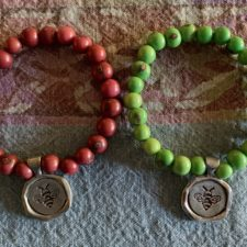 Be Happy Bracelet Set