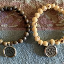 Breathe, Everything Is Within Reach bracelets
