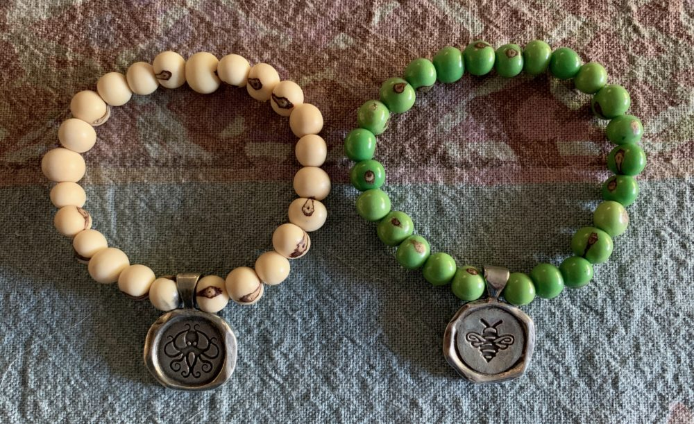 Everything is Within Reach and Be Happy Bracelets